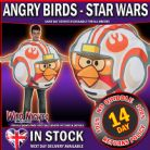 Mens Adult ~ Star Wars Angry Bird Luke Fighter Pilot Fancy Dress Costume